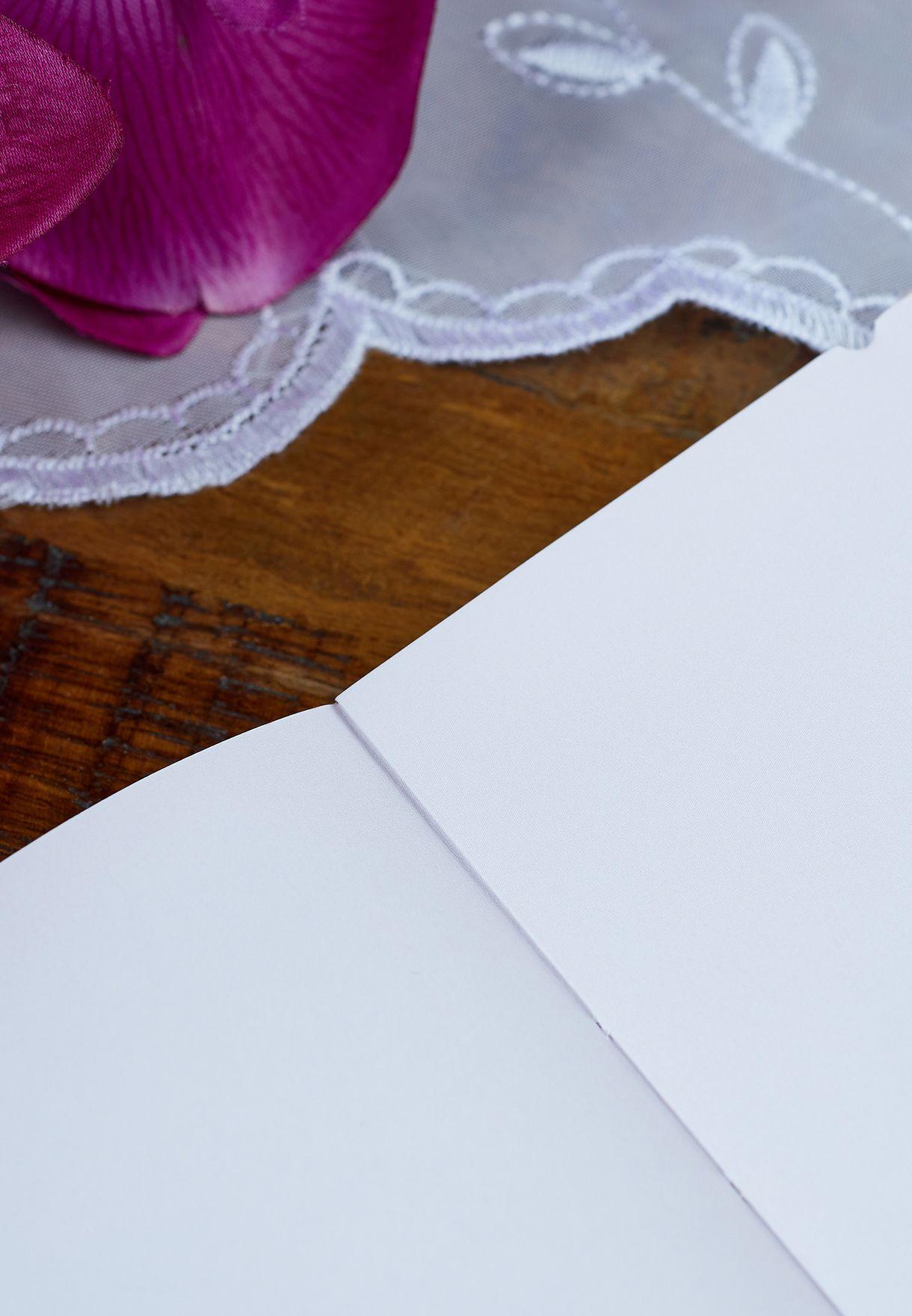 دفتر ملاحظات مع قلم A7