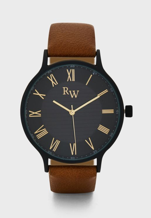 Analogue Dress Watch with Numerals