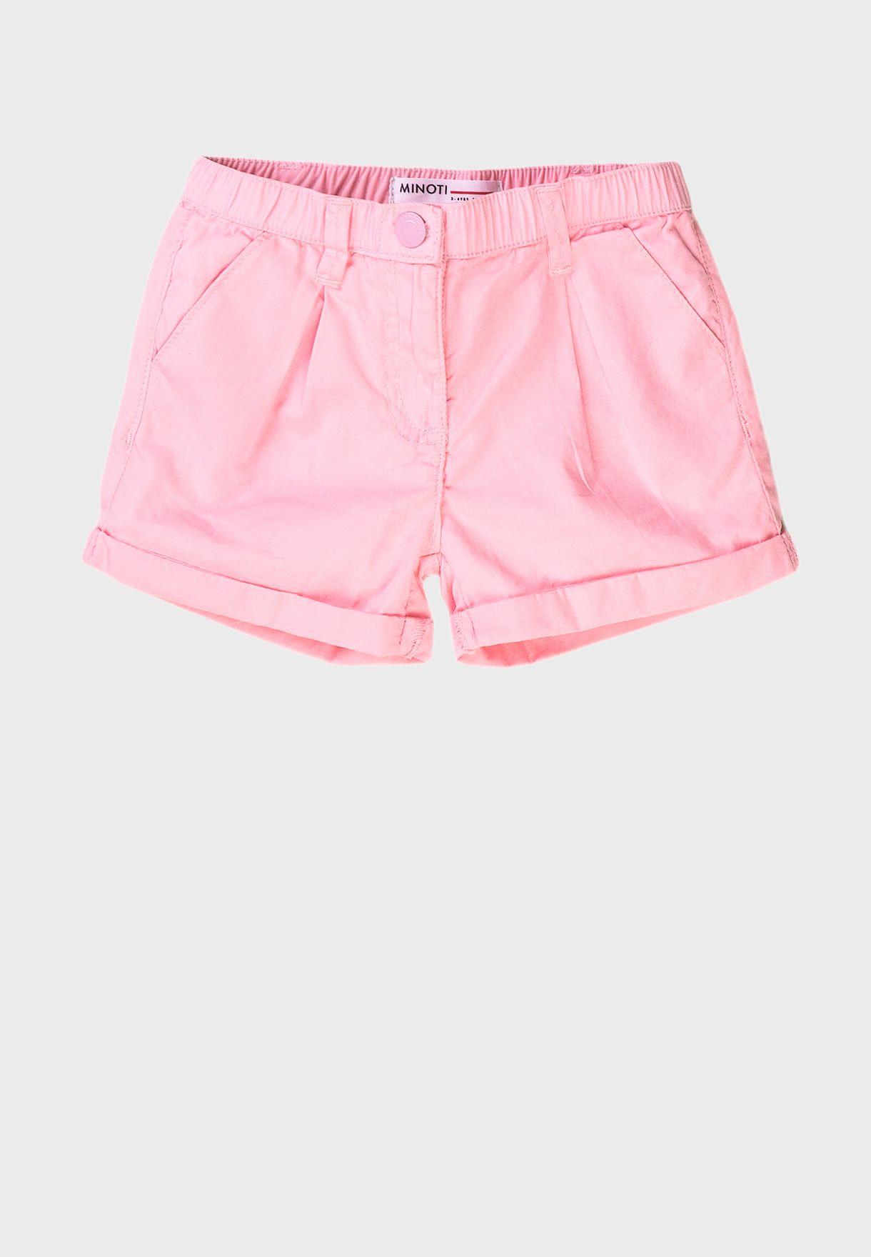 Kids Basic Poplin Shorts