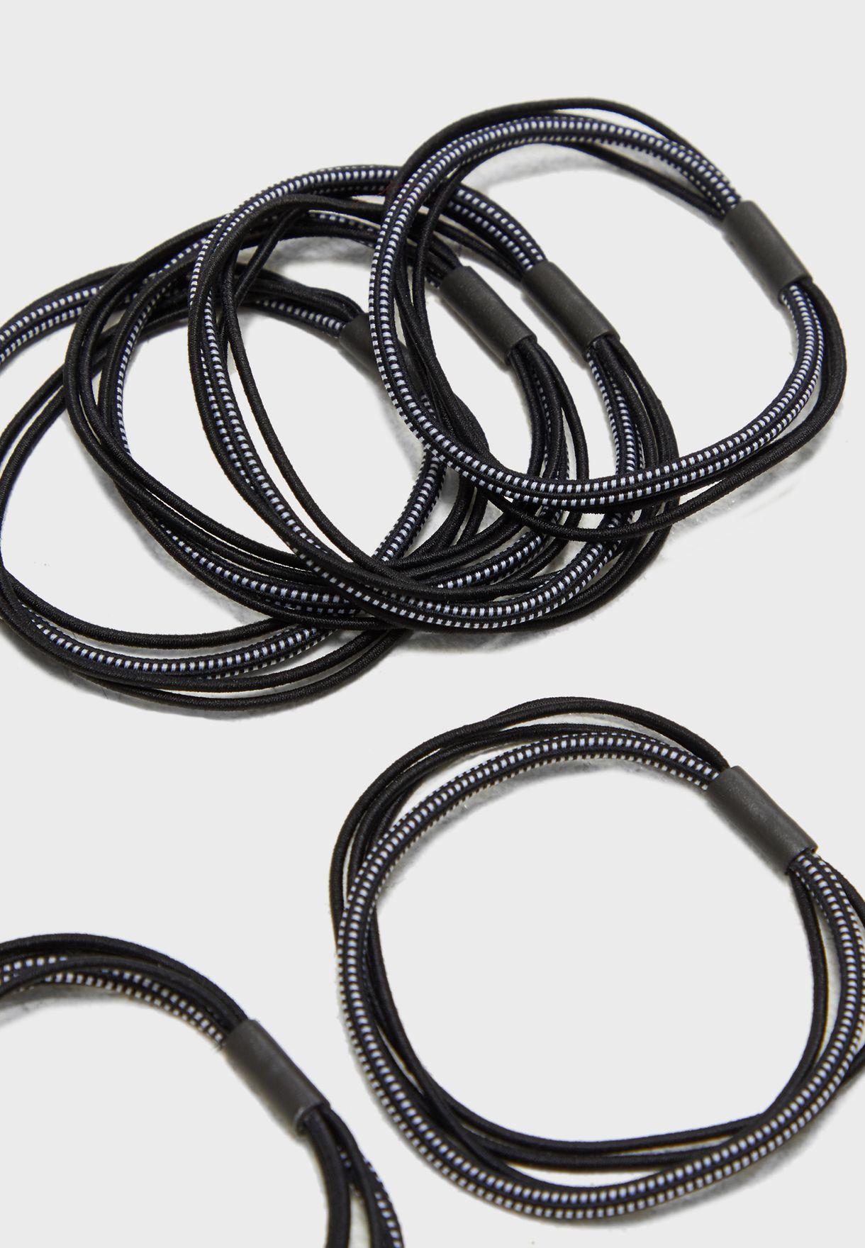 Multipack Essential Elastic Hair Tie