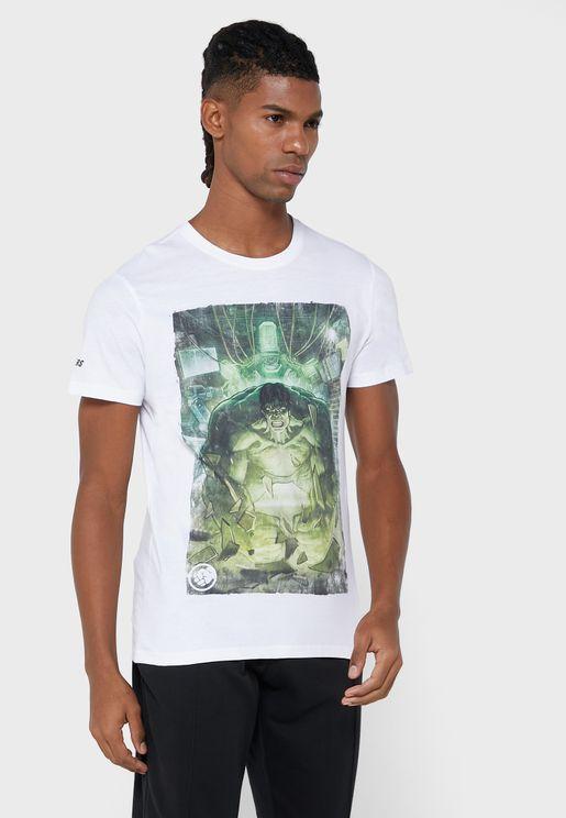 Hulk Crew Neck T-Shirt