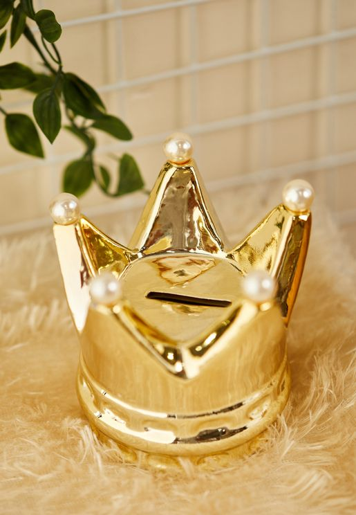 Crown Money Box