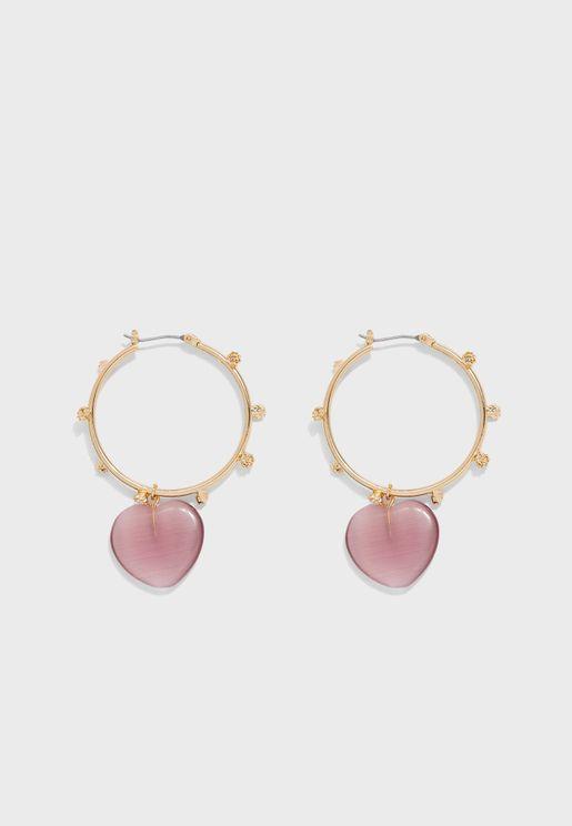 Watercolor Drop Earrings