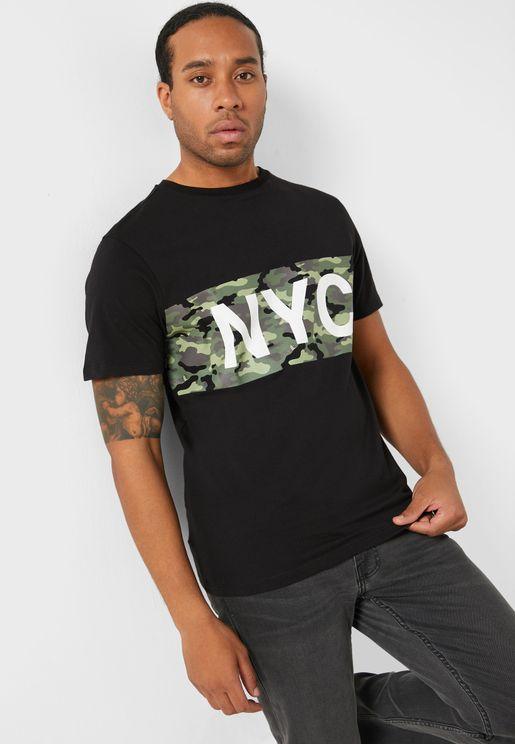 NYC Camo T Shirt