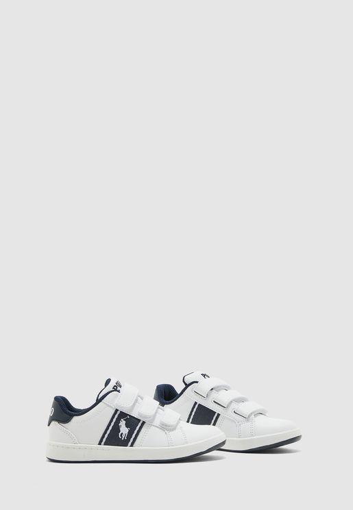 حذاء سنيكرز باشرطة فيلكرو