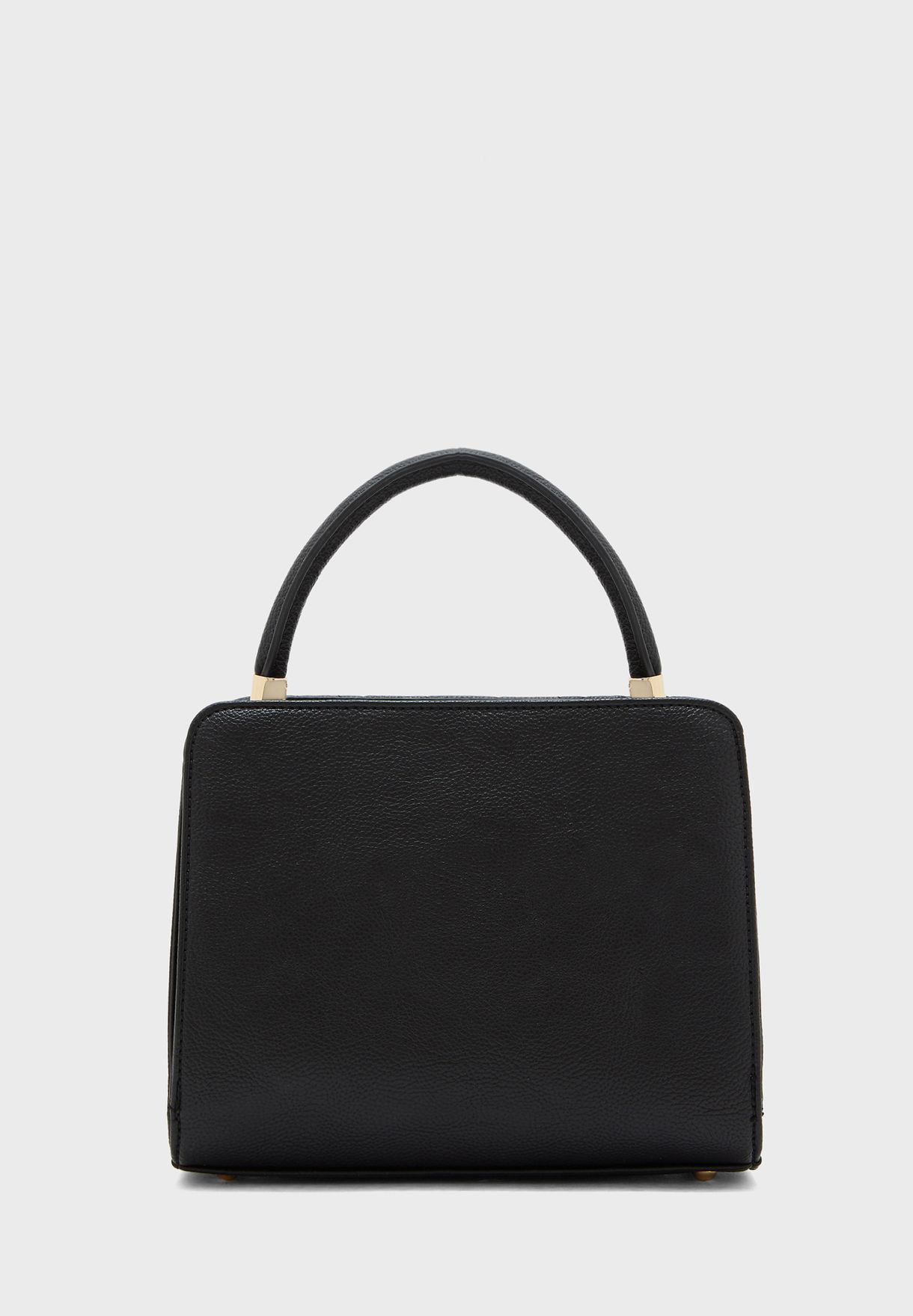 Quilted Round Handle Tote