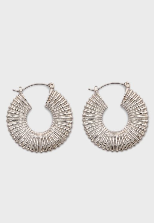 Jaqueline Hoop Earrings