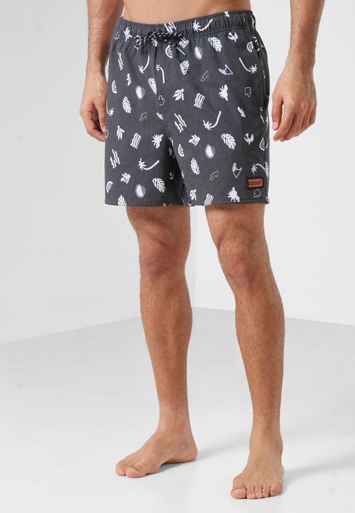 """16"""" Motif Volley Shorts"""
