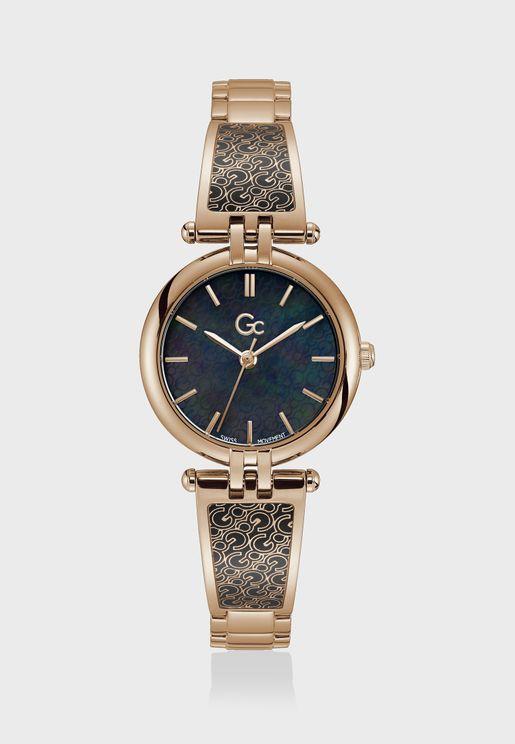 Logochic Mid Size Metal Strap Watch
