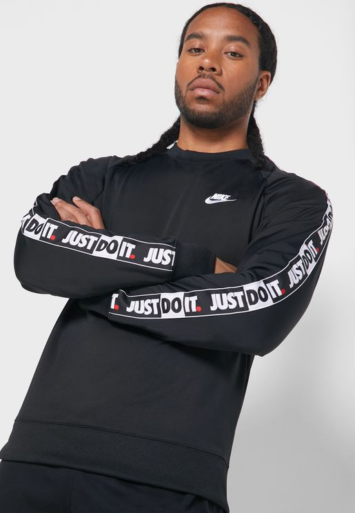 NSW Just Do It Tape Sweatshirt