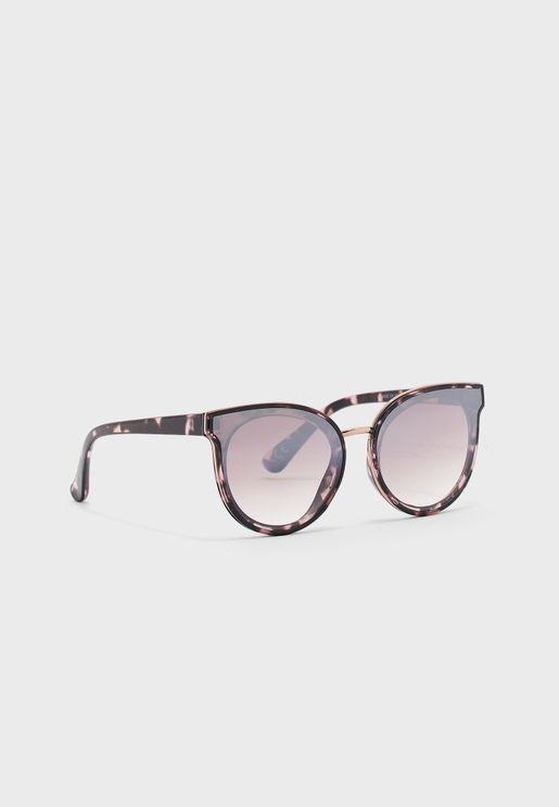 Cassie Mirrored Cateye Sunglasses