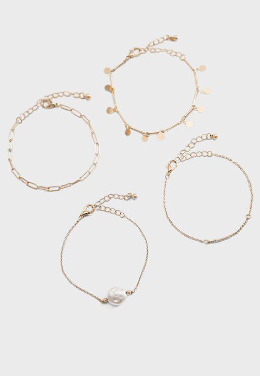 Akebia Bracelet Set