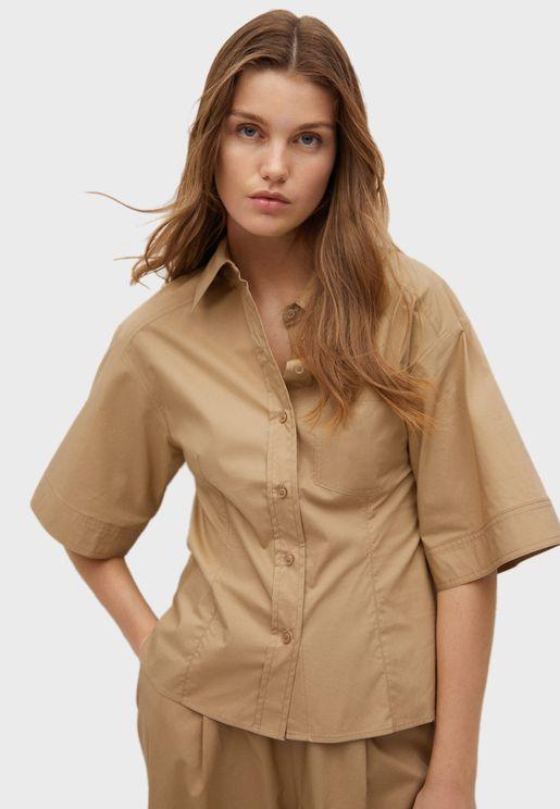 Wide Sleeve Shirt