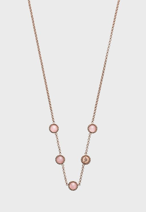EGS2695221 Pearl Chain Necklace