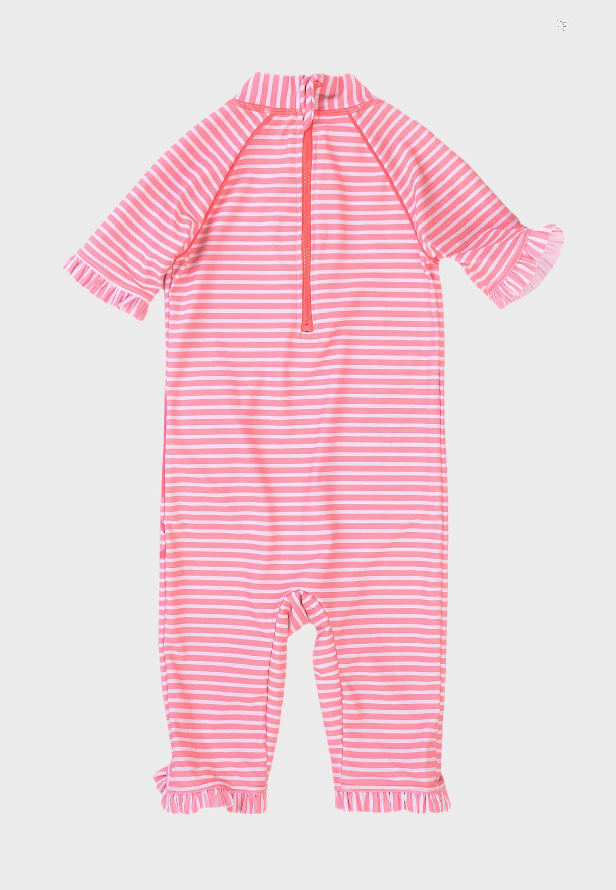 Infant Flamingo All In One Swimsuit