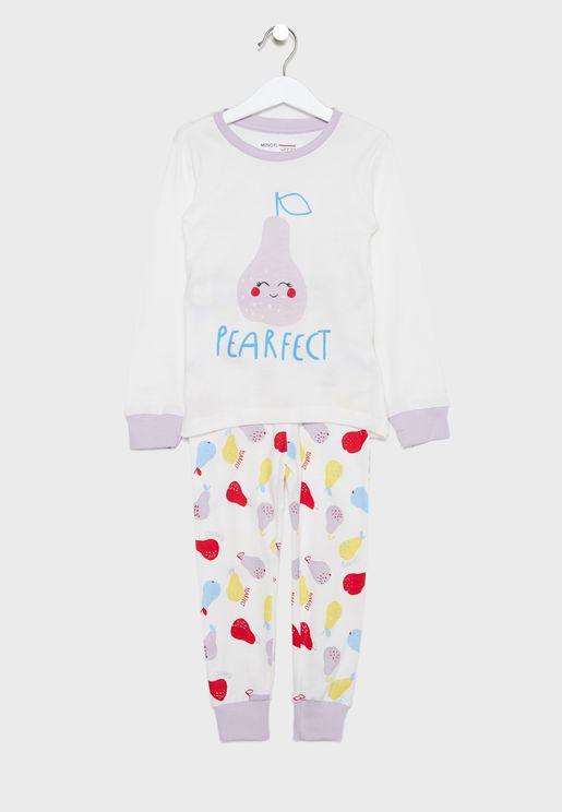 Kids Pearfect Pyjama Set