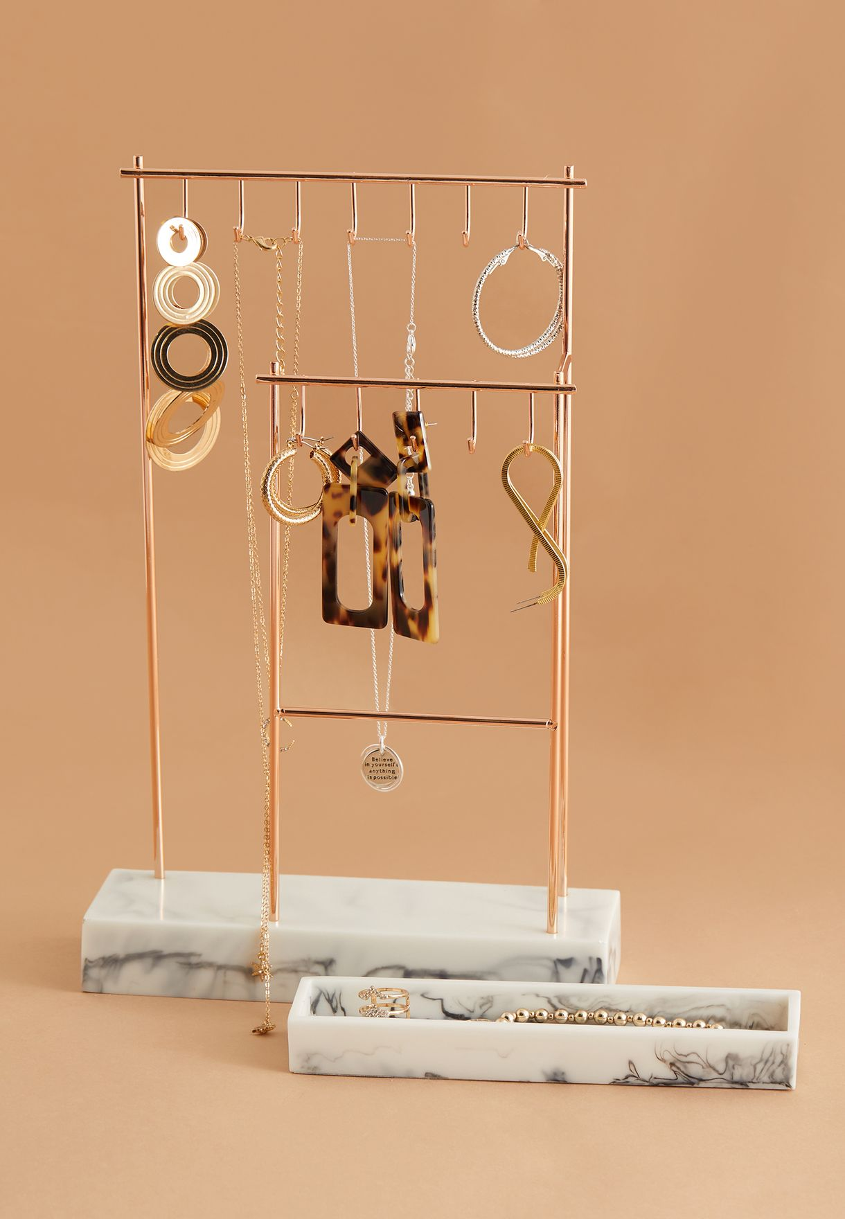 Large 12 Hook Jewellery Stand