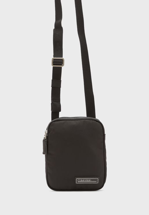 Side Logo Messenger Bag