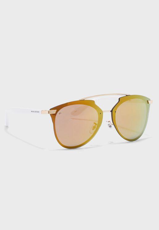 The Benz Top Bar Oversized Sunglasses