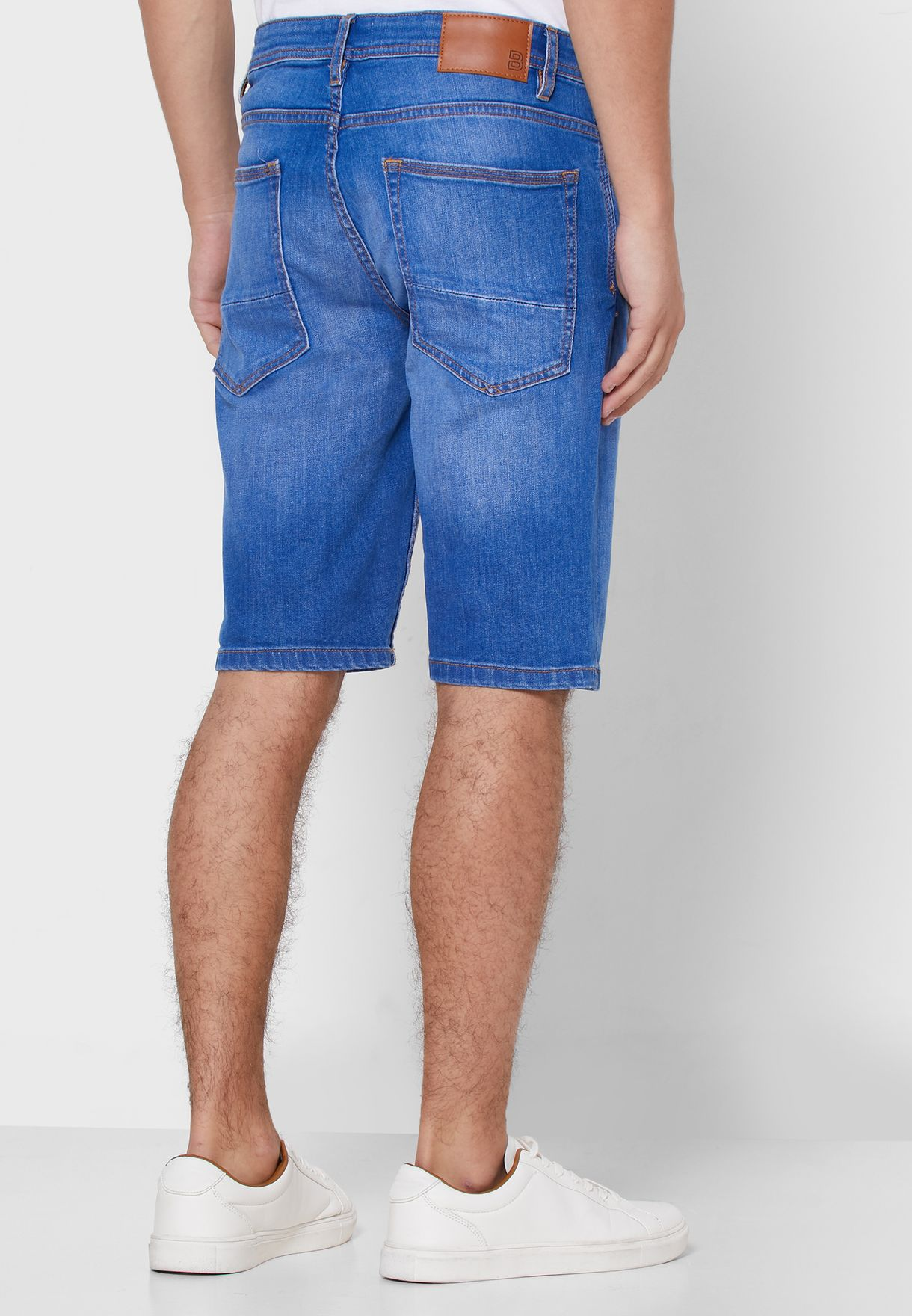 Burton Roll Hem Shorts - Fashion
