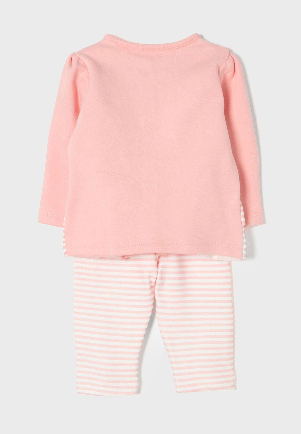 Infant Striped Tracksuit