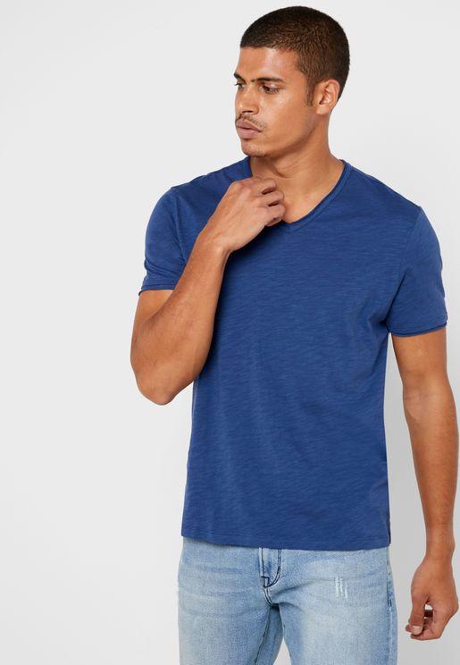 Miles V-Neck T-Shirt