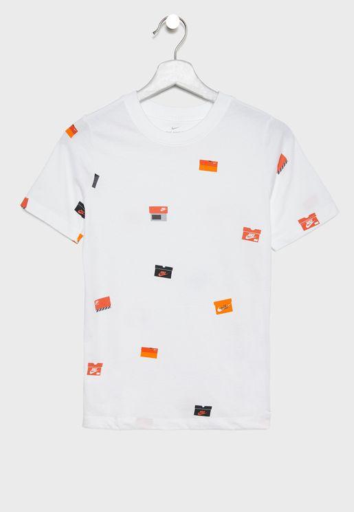 Youth Shoe Box AOP T-Shirt