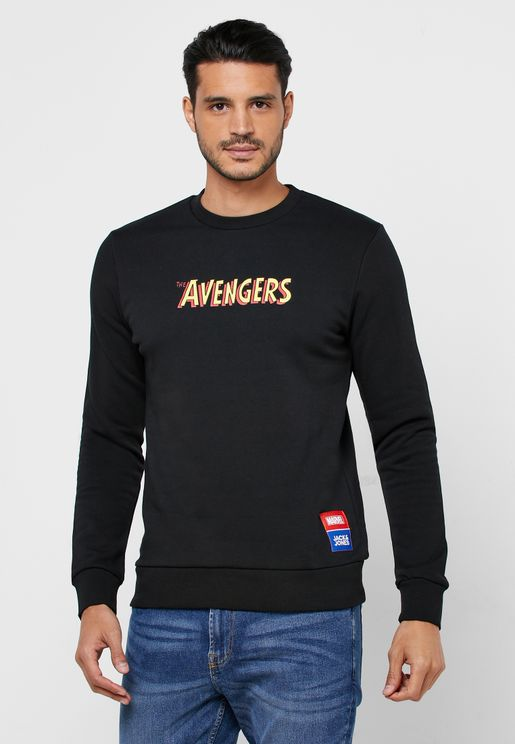 Avengers Regular Fit Sweatshirt