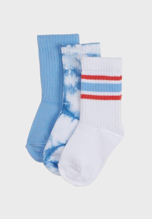 Kids Tie Dye Socks