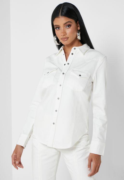 Ringy Denim Shirt