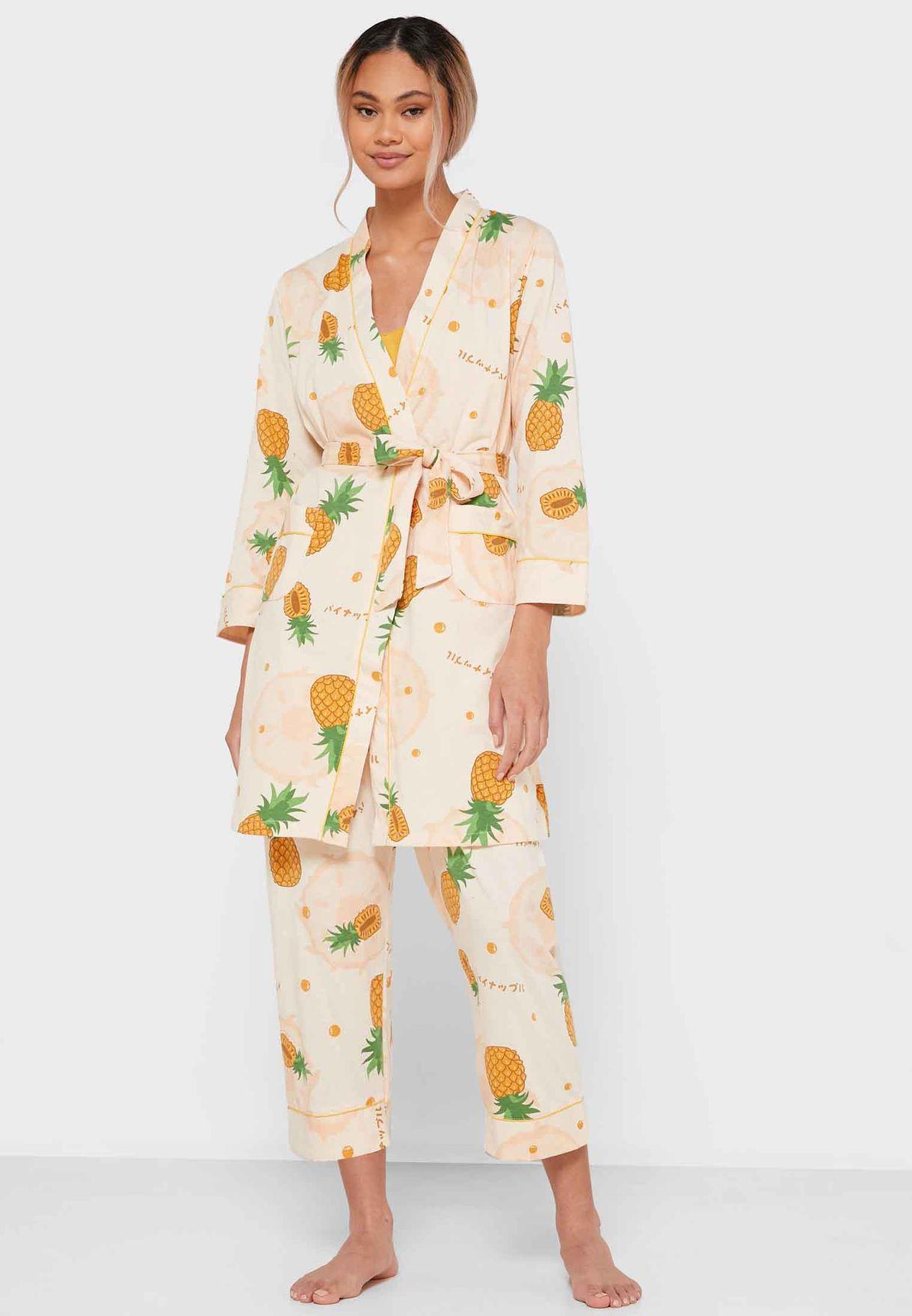 3 in 1 Printed Pyjama set