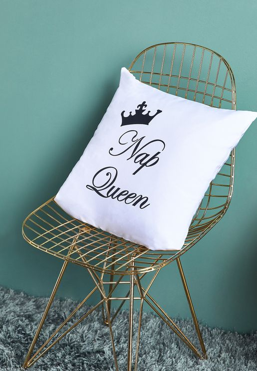Nap Queen Cushion with Insert - 45x45cm
