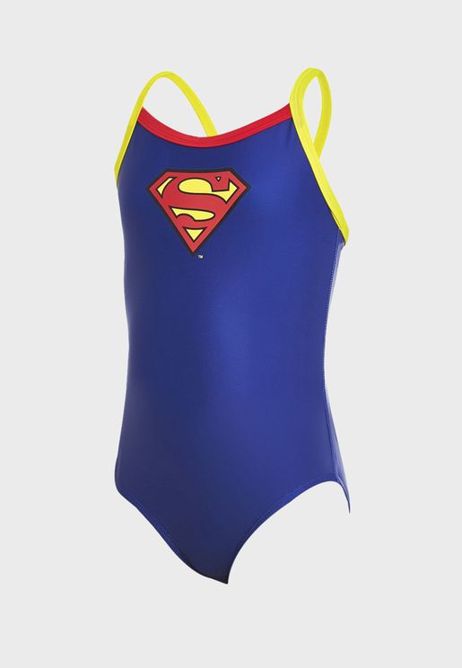 Youth Superman Kerrawa Strikeback Swimsuit