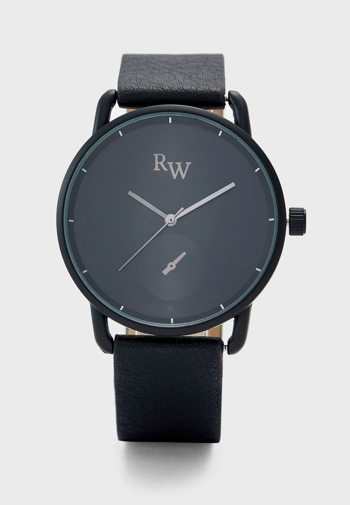 Curved Lugs Sleek Watch
