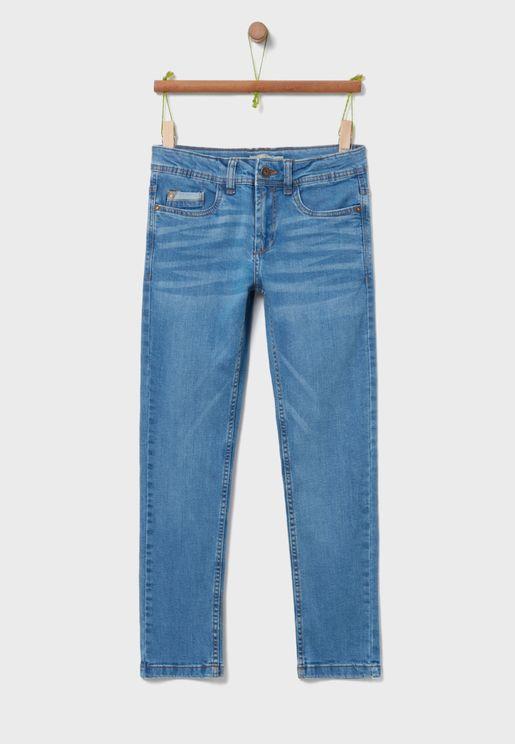 جينز سليم فت كلاسيكي