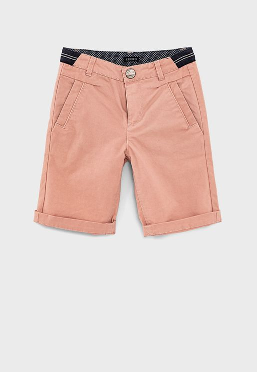 Kids Elasticated Waistband Shorts