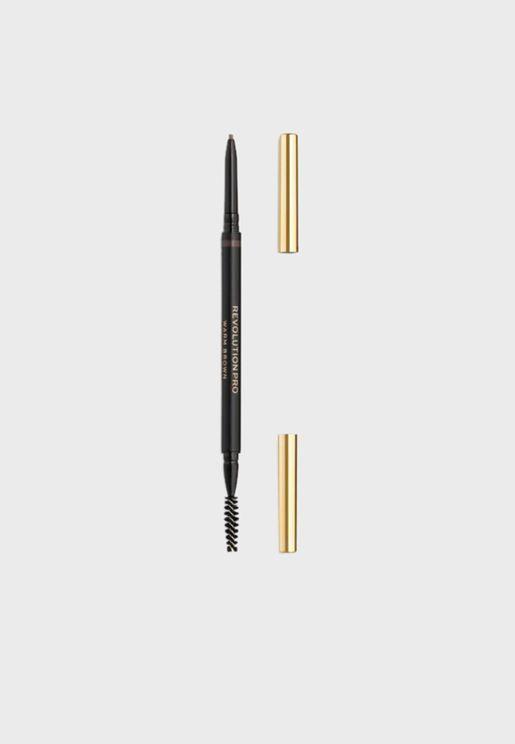 قلم حواجب للتحديد والملء - بني دافئ