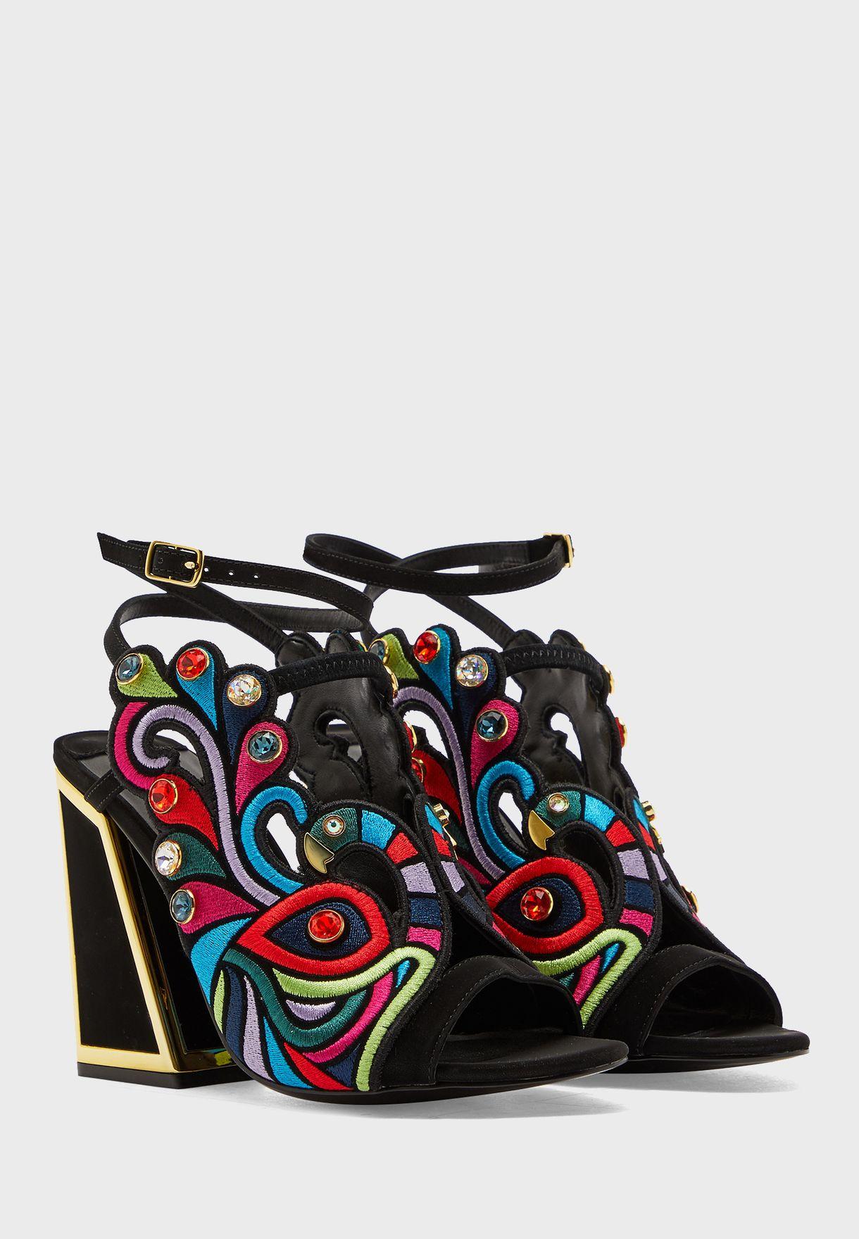 Piya Ankle Strap High Heel Sandal