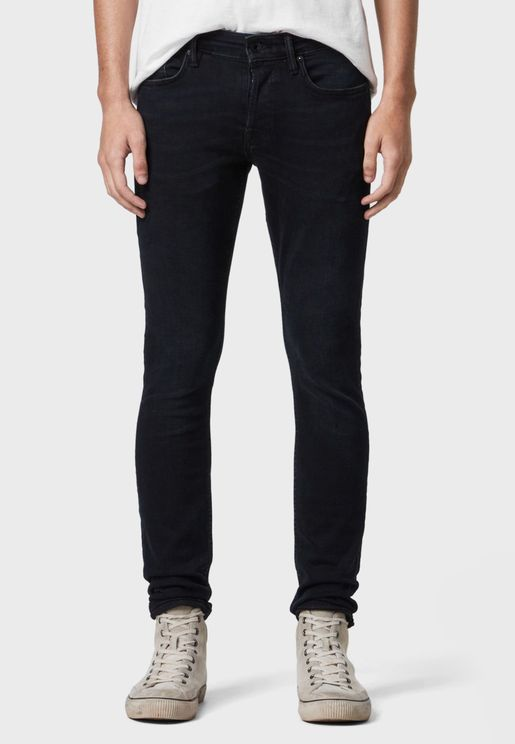 Cigarette Slim Fit Jeans