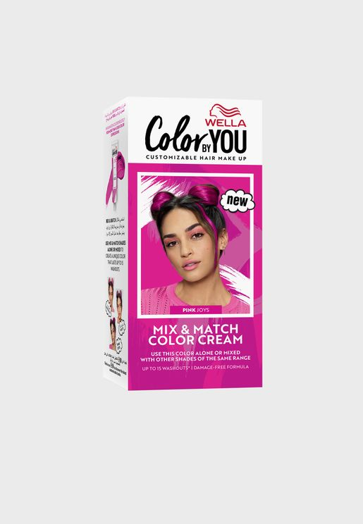 Mix & Match Hair Color Cream Pink Joys