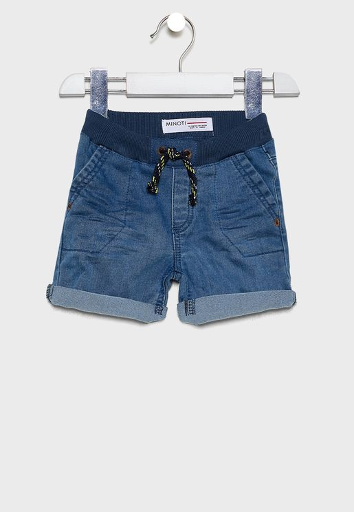 Infant Tie Waist Shorts