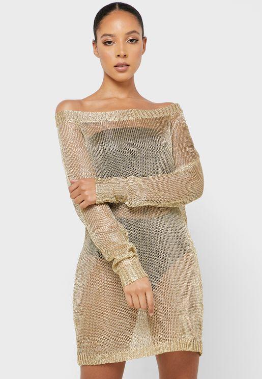 Bardot Sweat Dress