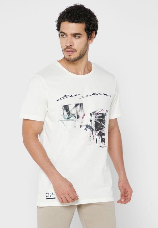 Graphic Oversize Crew Neck T-Shirt