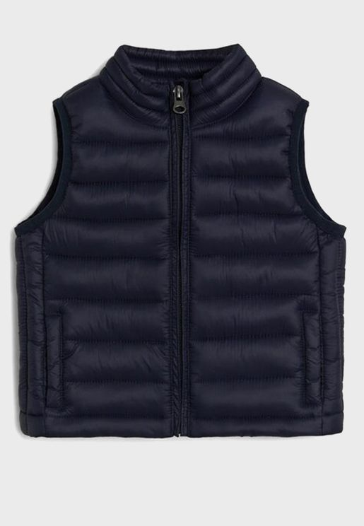 Kids Quilted Waistcoat