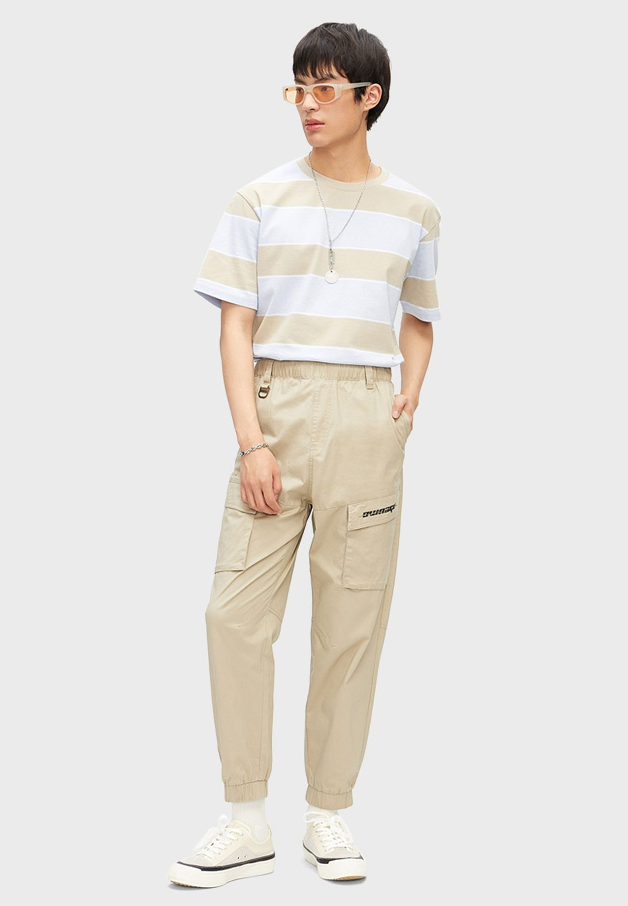 Casual Plain Sweatpants