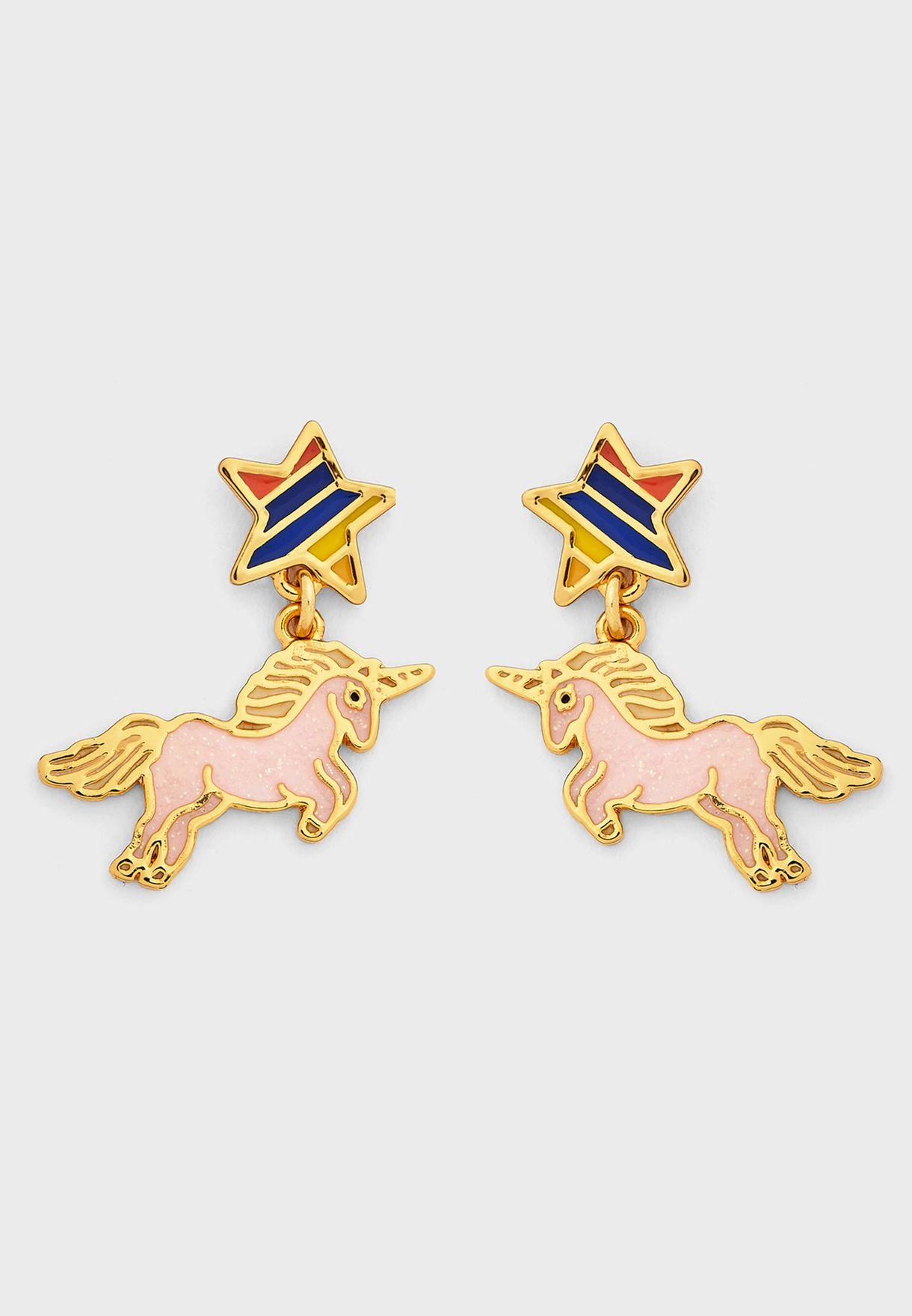 Unicorn Drop Earrings