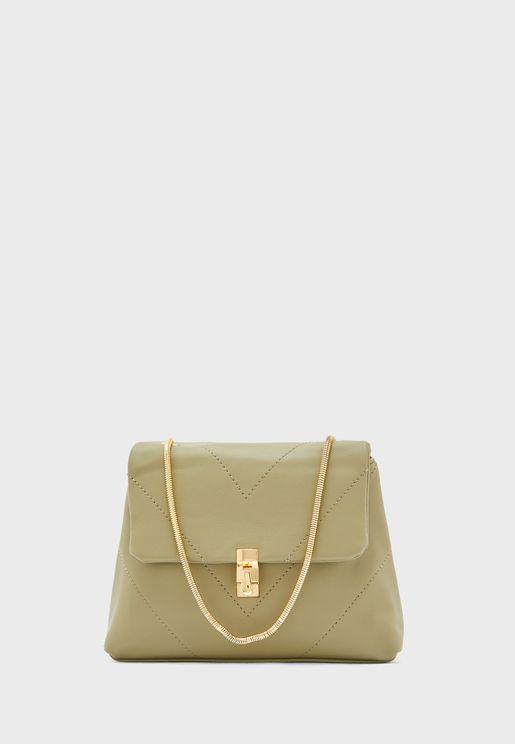 Quilted Crossbody handbag