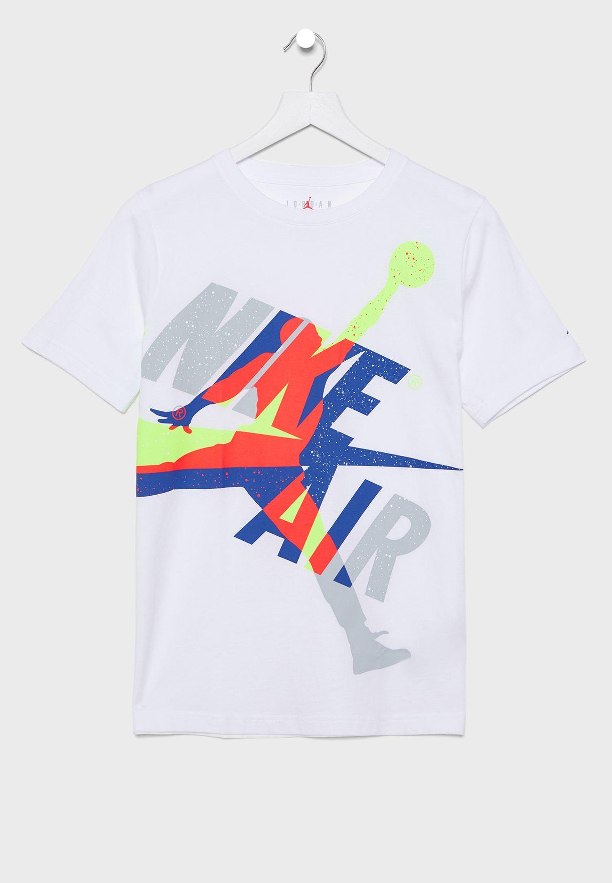 Nike Boys Jumpman Os Classic Graphic T-Shirt