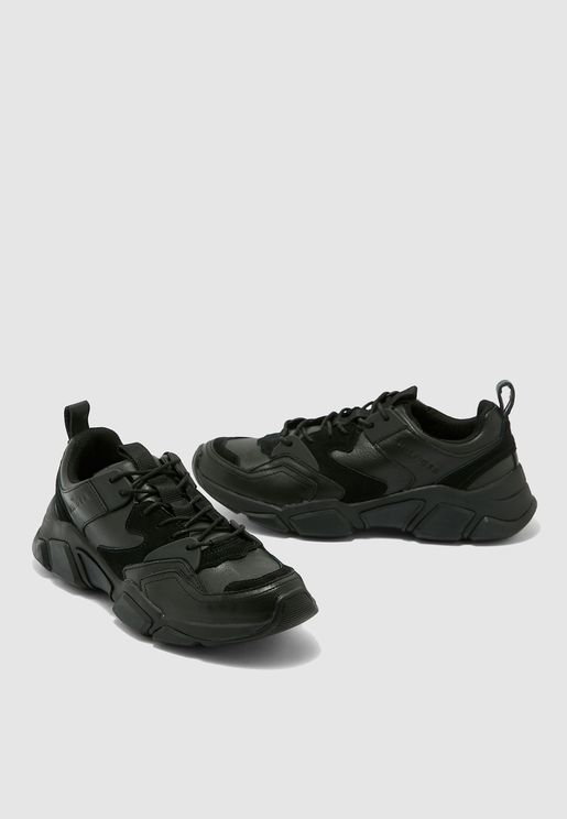 Chunky Leather Trainers