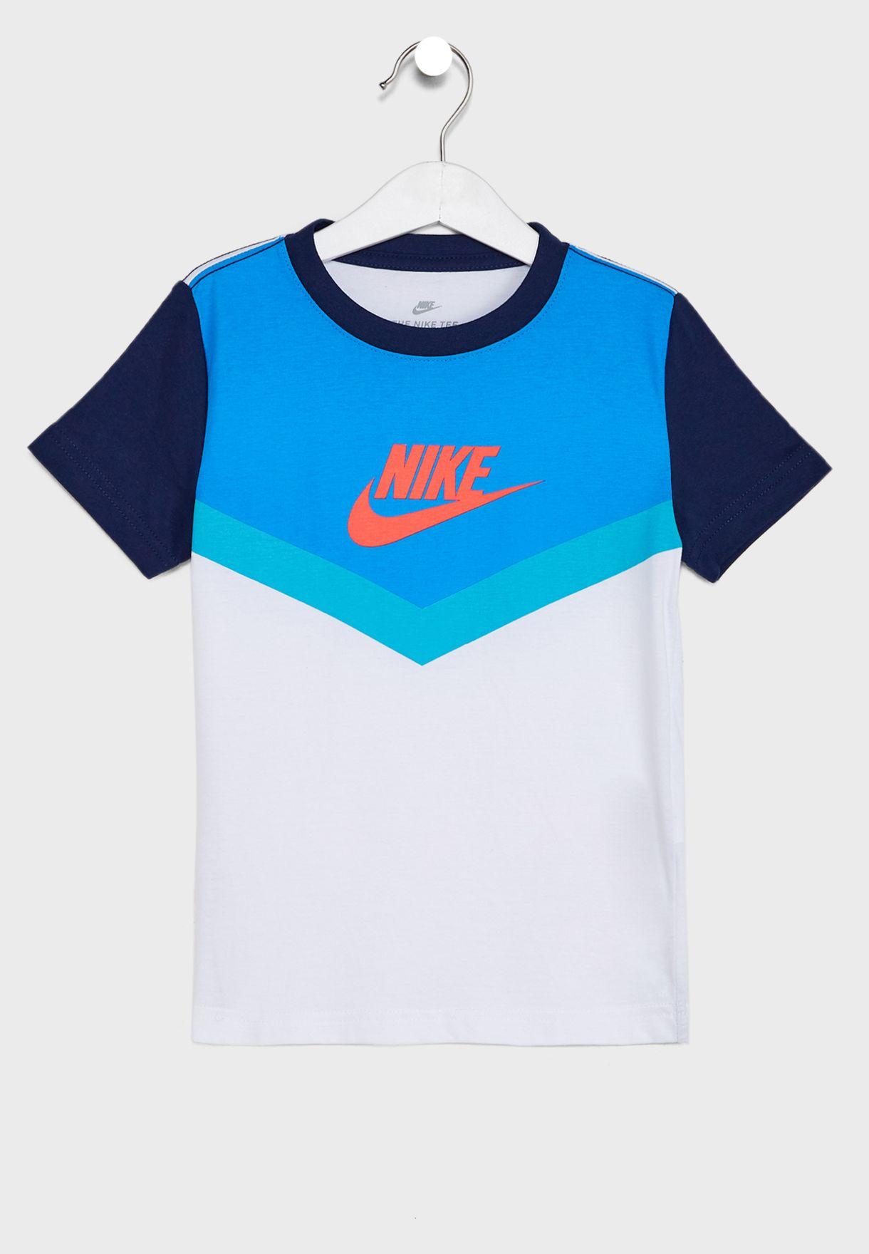 Kids Futura Chevron T-Shirt